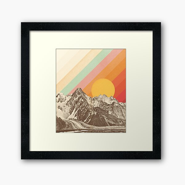 Mountainscape #1 Framed Art Print