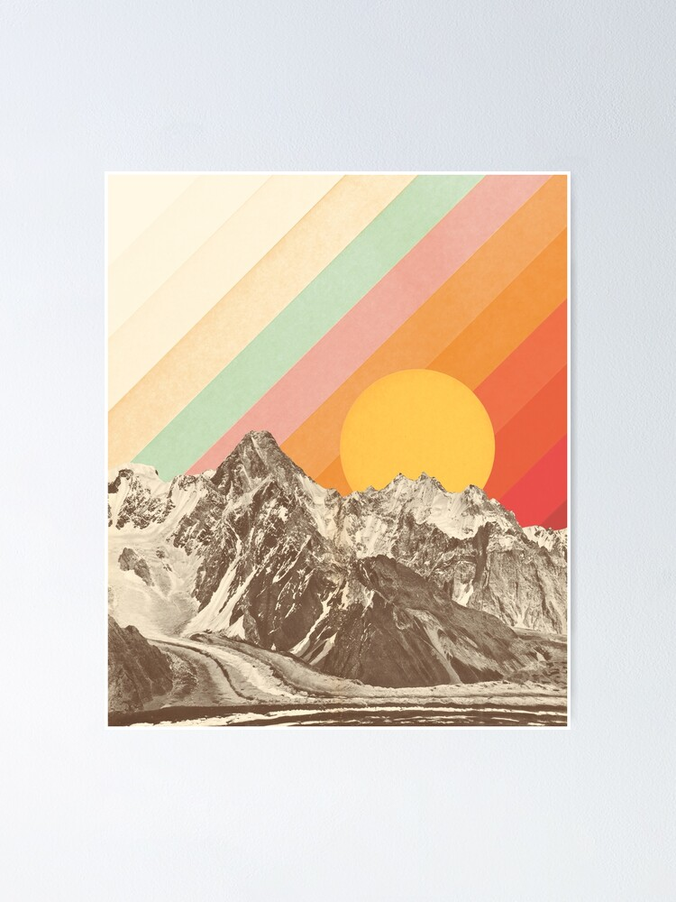 Alternate view of Mountainscape #1 Poster