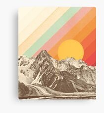 Mountainscape #1 Canvas Print