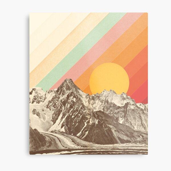 Mountainscape #1 Metal Print