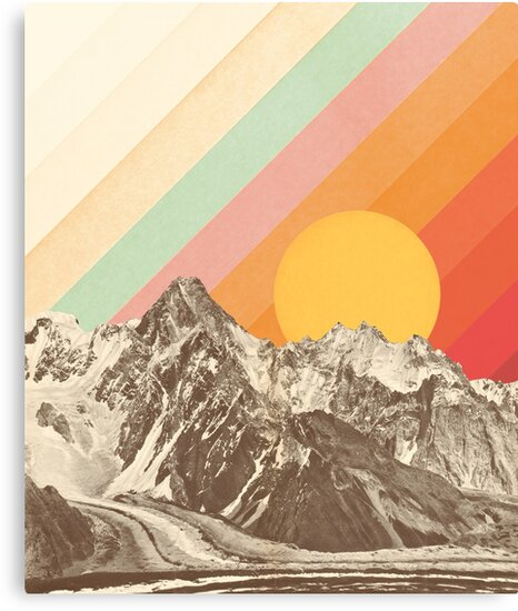 Mountainscape #1 by Florent Bodart
