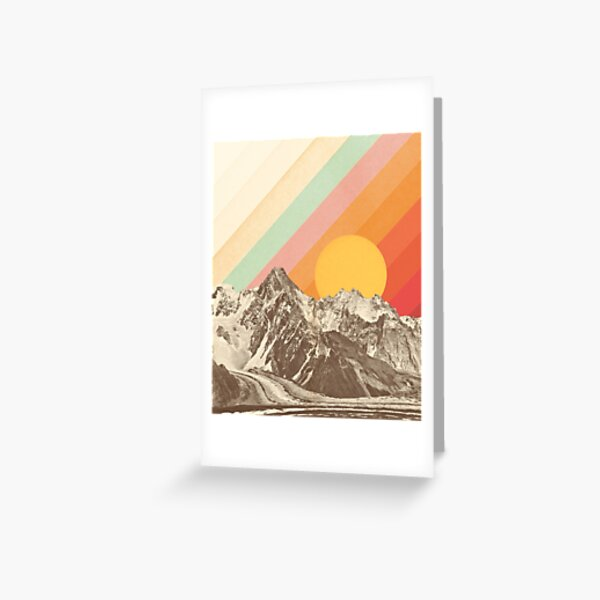 Mountainscape #1 Greeting Card