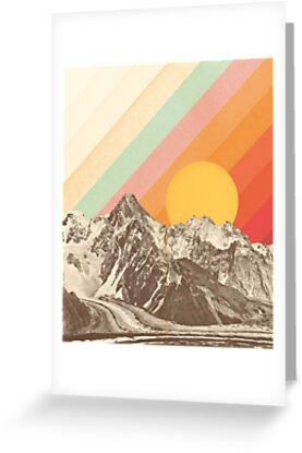 Berglandschaft # 1 von Florent Bodart