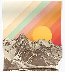 Berglandschaft # 1 Poster
