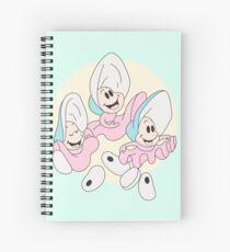 Alice In Wonderland: Baby Oysters Spiral Notebook