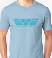 Weyland Corp logo - Alien - Blue T-Shirt