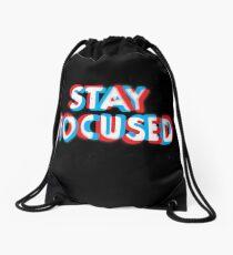 Stay Focused Drawstring Bag