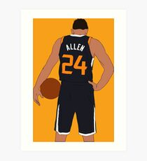 Grayson Allen Jazz Art Print