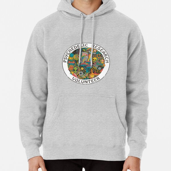 Psychedelic Research Volunteer Pullover Hoodie