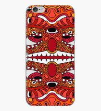 Digital doodle eighteen - Clown color iPhone Case