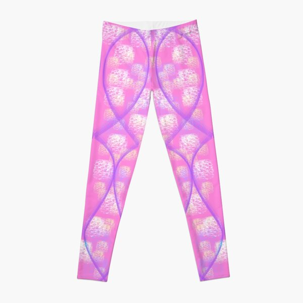 Leggings Pink, Purple and White Leggings