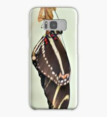 New Zebra Longwing Butterfly Samsung Galaxy Case/Skin