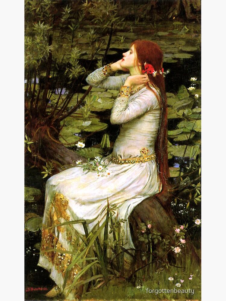 Ophelia 1894 - John William Waterhouse by forgottenbeauty