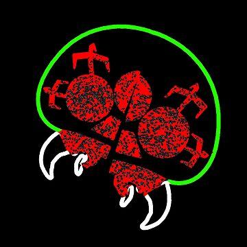 Metroid Parasite by TheKalebFishStore