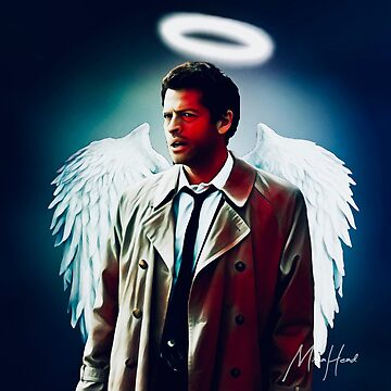 Castiel White Wings by MishaHead