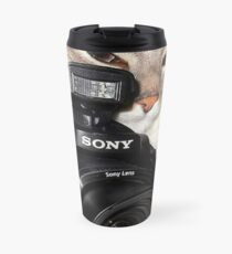 Camera Cat Travel Mug