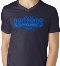 USCSS Nostromo - Alien - Logo Men's V-Neck T-Shirt