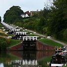 Caen Hill Locks, Devizes, Wiltshire, England by LumixFZ28