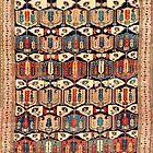 18th Century Caucasus Rug by Vicky Brago-Mitchell