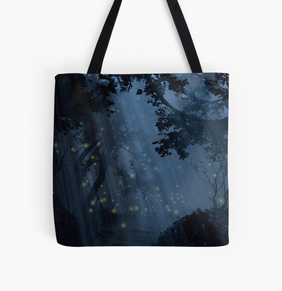 Dapplewood (Night) All Over Print Tote Bag