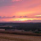 Misty Sunset by LumixFZ28