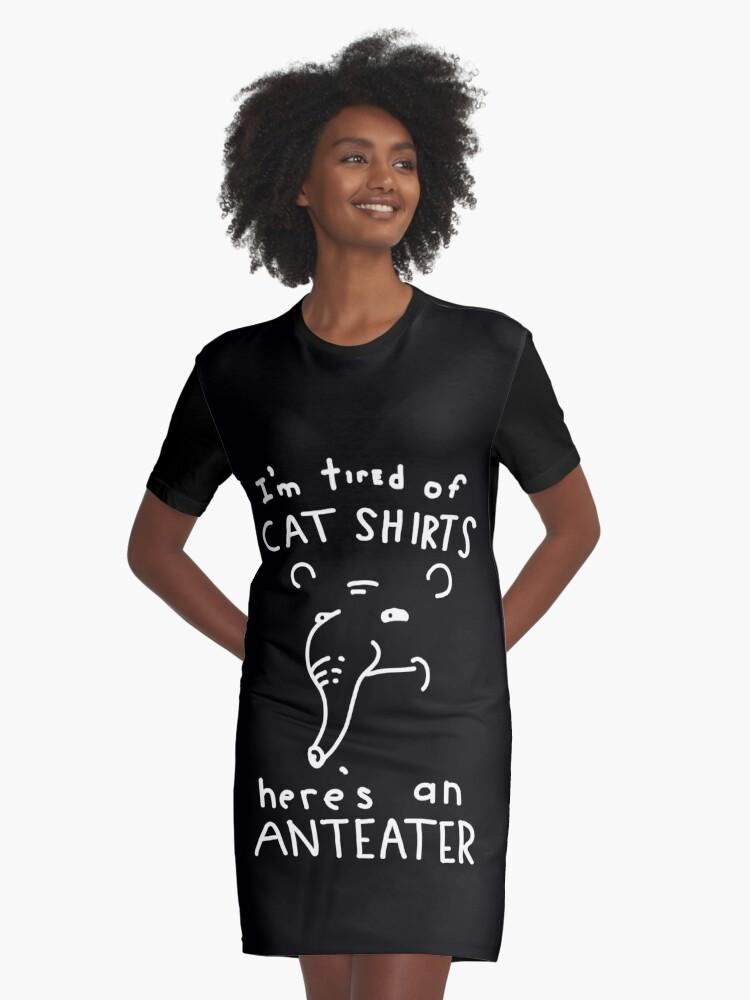 Im Really an Anteater Tee Shirt Design Long Sleeve Shirt