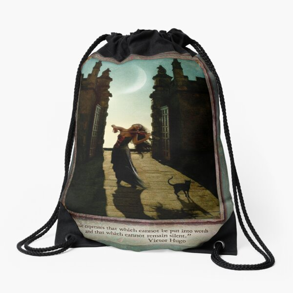 Daydreams Calendar - October Drawstring Bag