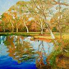 Afternoon in the Darebin Wetlands by Dai Wynn