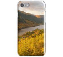 Balquhidder Braes & Loch Voil, Balquhidder, Loch Lomond & The Trossachs, Scotland iPhone Case/Skin