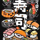 Sushi Kawaii by plushism