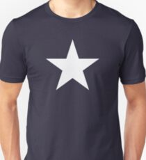 White Star Solid T-Shirt