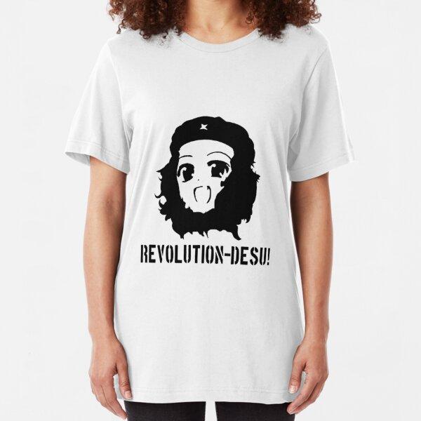 Revolution Desu!  Slim Fit T-Shirt