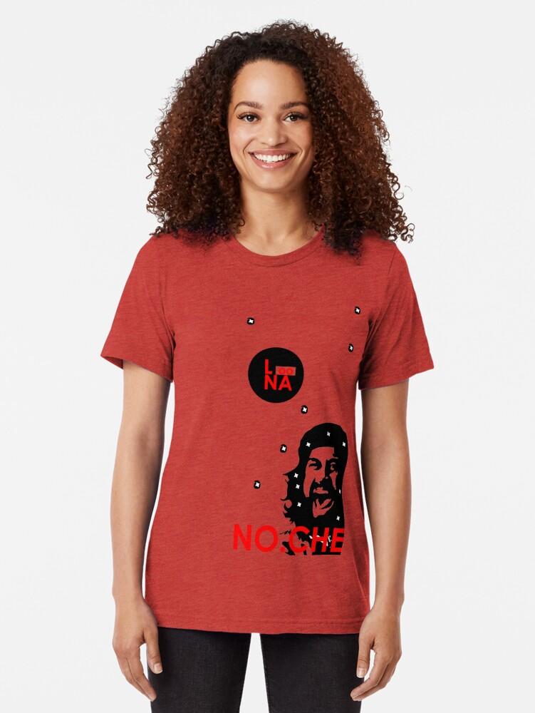 Alternate view of Luna Noche - Loona - No Che Tri-blend T-Shirt