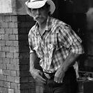 Nashville Cowboy  (P_3840bw) by Michael McCasland