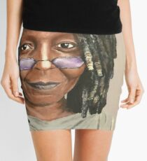 Whoopi Goldberg painting Mini Skirt
