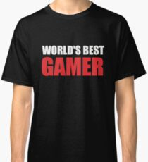 World's Best Gamer Classic T-Shirt
