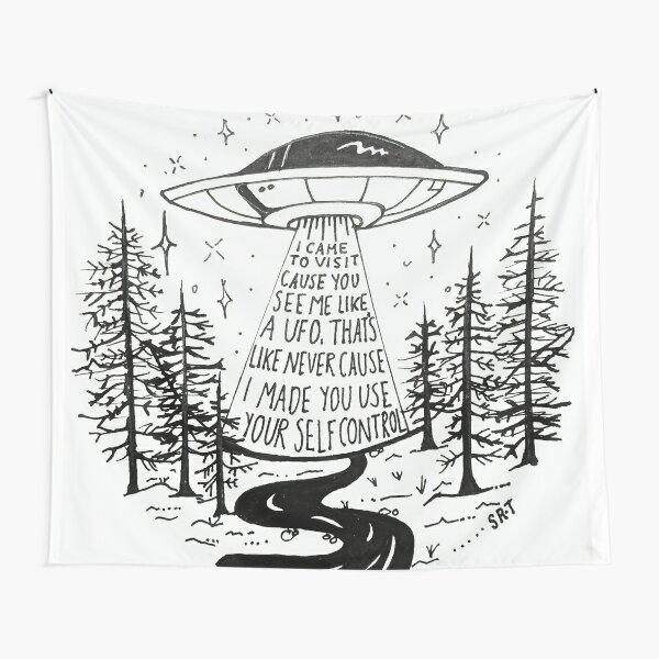 Frank Ocean Self Control hayillustrate Tapestry