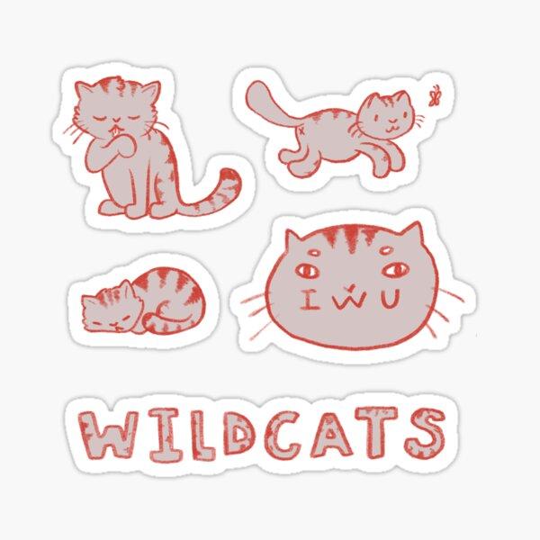 IWU Wildcats Sticker