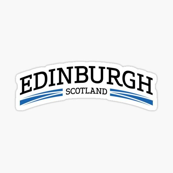 Edinburgh Scotland Sticker