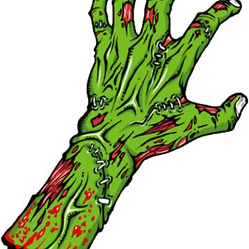 Zombie Hand by 13666