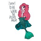 People free Mermaid by Bexxadoodles