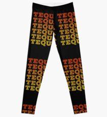 Tequila Retro Design Leggings