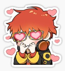 707 Heart Eyes Sticker Sticker