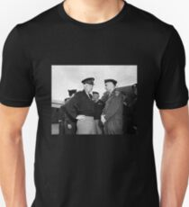 Eisenhower and General Lucius Clay - Berlin - 1945 Unisex T-Shirt
