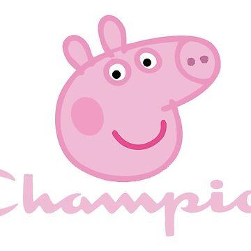 CHAMPION - Peppa Pig by davisluna15