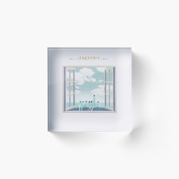 BTS EUPHORIA - OPENED WINDOW Acrylic Block