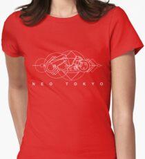 Kaneda Neo Tokyo Women's Fitted T-Shirt
