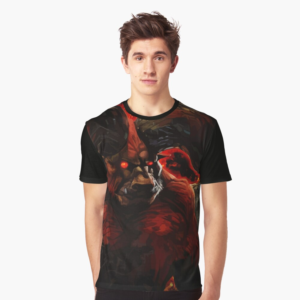 The Immortal Monster Graphic T-Shirt Front