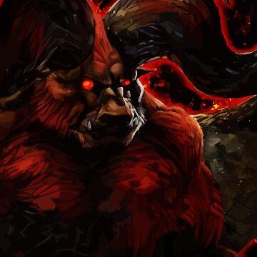 The Immortal Monster by hustlart