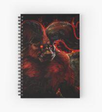 The Immortal Monster Spiral Notebook